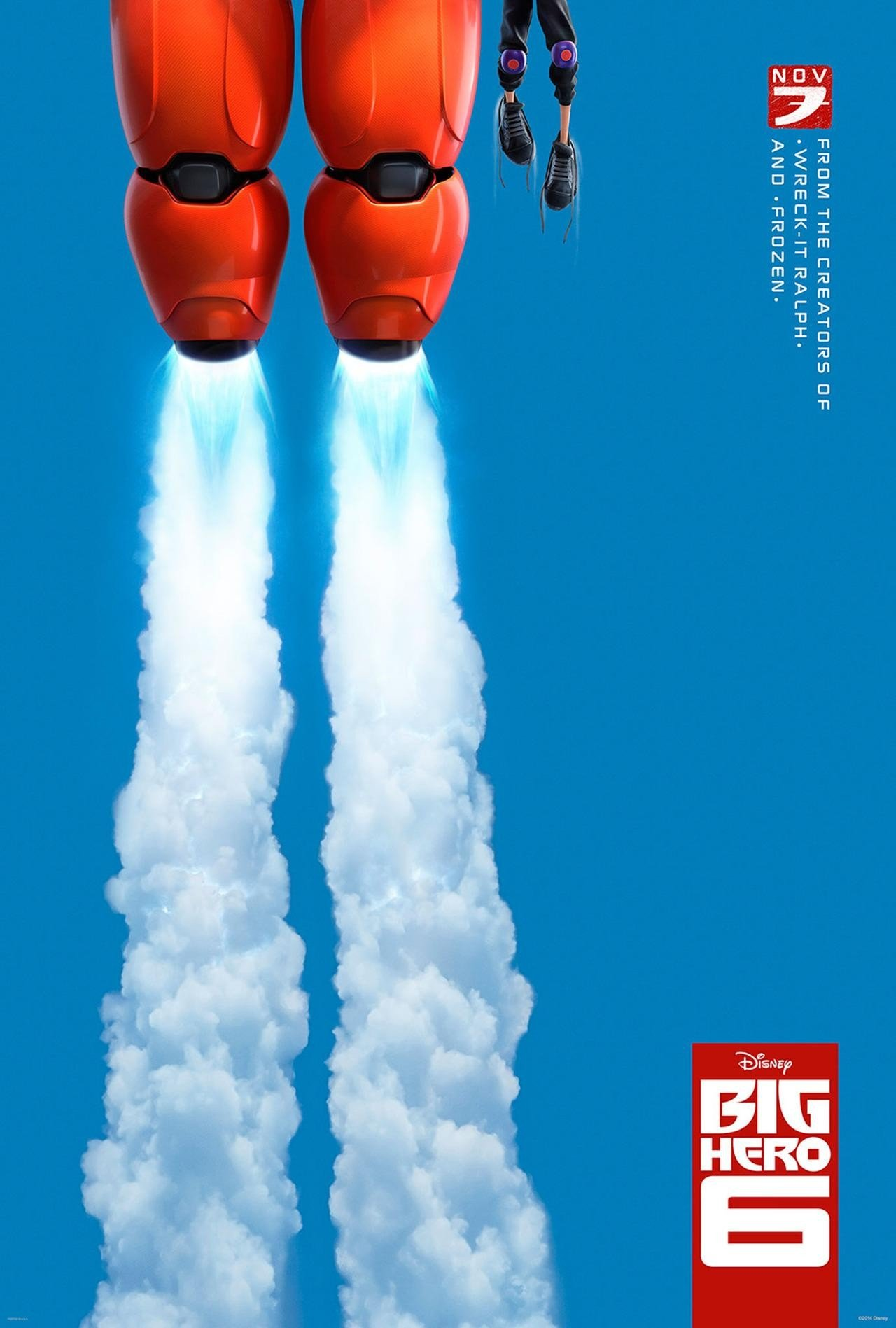 New Teaser Trailer And Poster For Big Hero 6