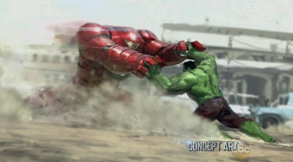 New Avengers: Age Of Ultron Concept Art Showcases Hulkbuster, Scarlet Witch And Quicksilver