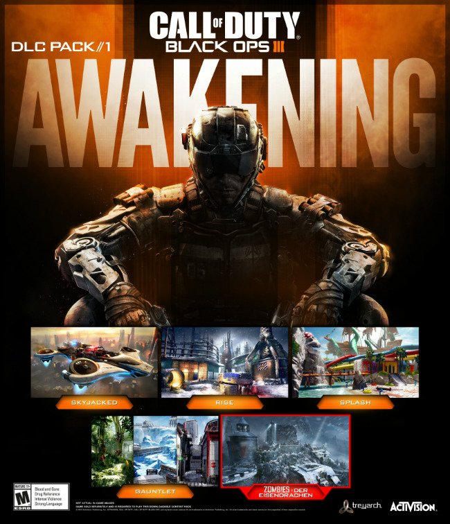 Awakening DLC Brings The First Of Four Map Packs To Call Of Duty: Black Ops III In February