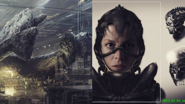 "Neill Blomkamp Shares More Aliens Concept Art; Project Is ""Going Very Well"""