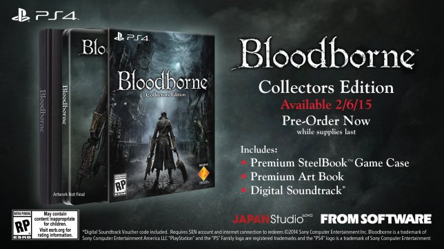 From Software's PS4 Exclusive Bloodborne Hits February 6th