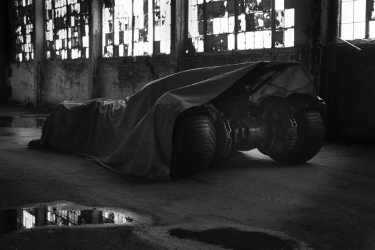 First Official Image From Batman vs. Superman Teases New Batmobile