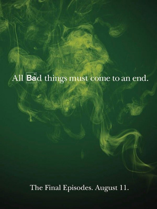 Breaking Bad Has A Poster And Trailer For The Finale