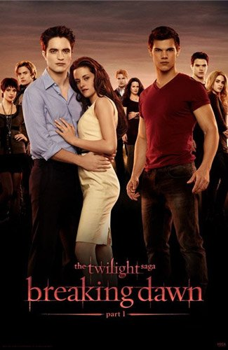 New Twilight: Breaking Dawn Part 1 Poster