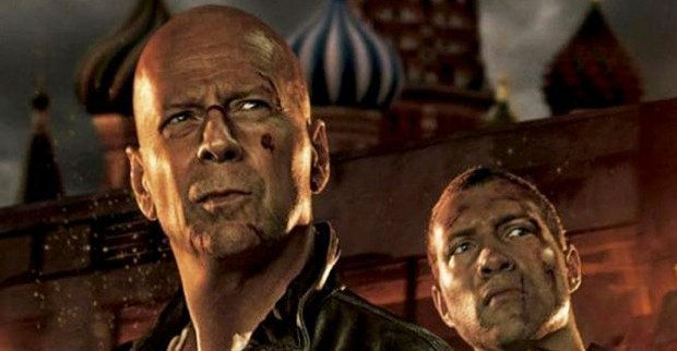 Press Conference Interview With Bruce Willis And Jai Courtney On A Good Day To Die Hard