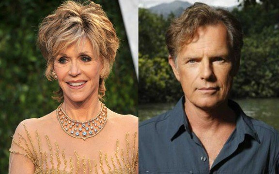 Bruce and Jane 576x360 Jane Fonda And Bruce Greenwood Join Fathers And Daughters