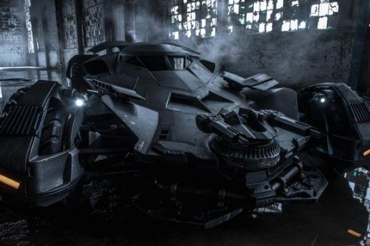 Zack Snyder Releases An Epic New Pic Of The Batman V Superman: Dawn Of Justice Batmobile