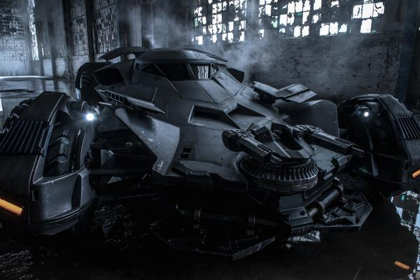 Set Video From Batman V Superman: Dawn Of Justice Showcases Batmobile In Motion