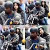 New Photos Of David Tennant And Mike Colter On The Set Of A.K.A. Jessica Jones