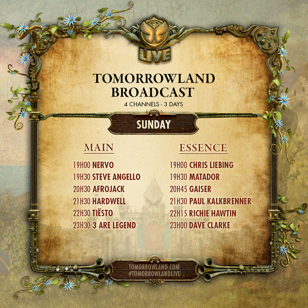 Stream Tomorrowland 2015 Right Here