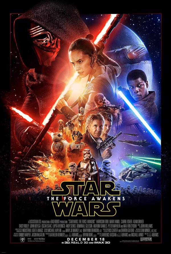 Check Out The First Official Poster For Star Wars: The Force Awakens