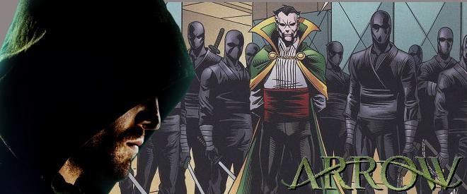 CW Arrow Ras Al Ghul