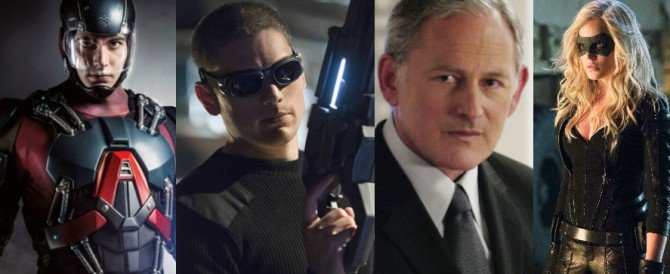 The CW Planning Arrow/Flash Spinoff Series Starring Brandon Routh, Wentworth Miller, Caity Lotz And Victor Garber