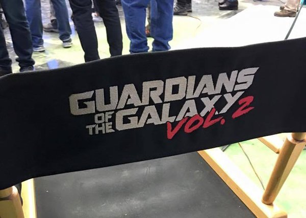 James Gunn Shares New Logo For Guardians Of The Galaxy Vol. 2