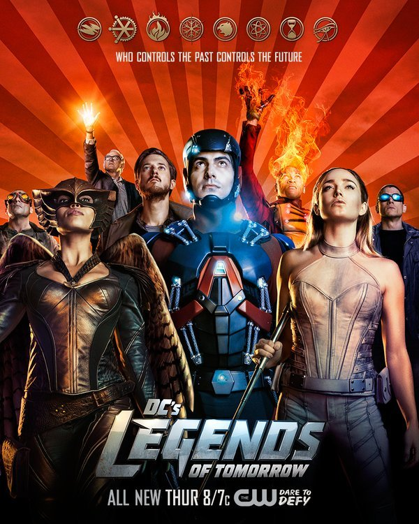 Heroes Rise In A New Poster For DC's Legends Of Tomorrow
