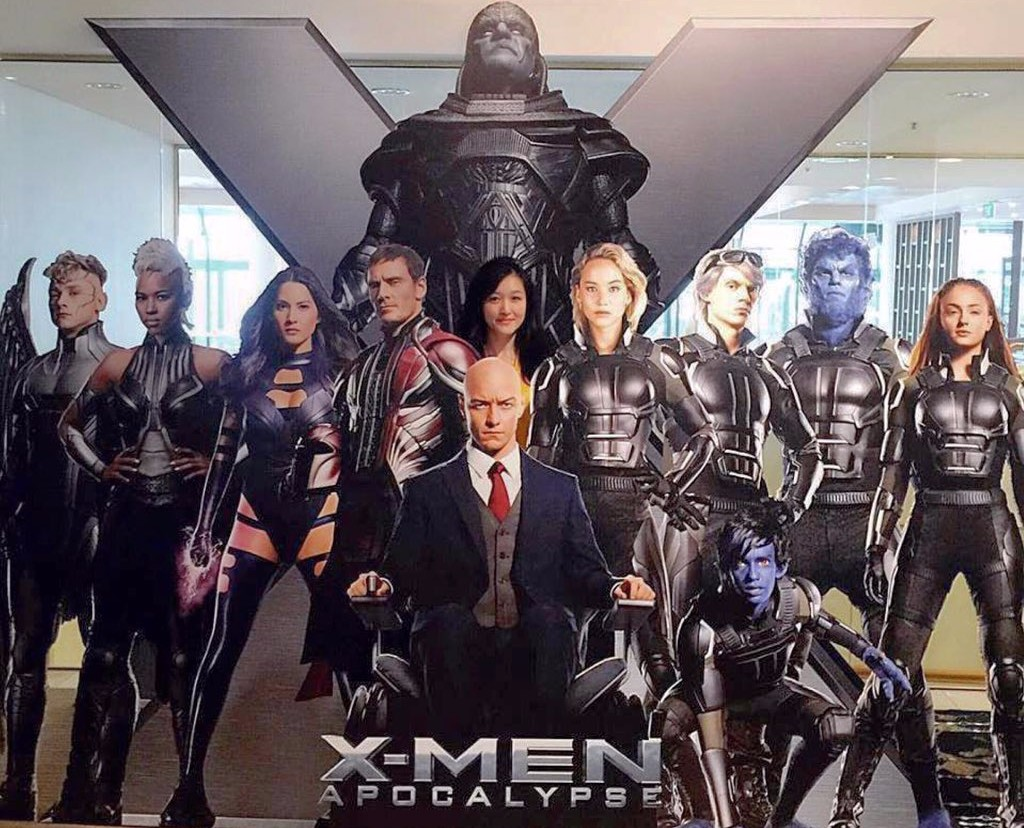 X-Men: Apocalypse Theatre Standee Features New Looks At Most Of The Characters