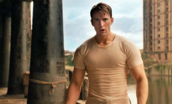 Captain America 2011 Interview With Chris Evans On Captain America: The First Avenger