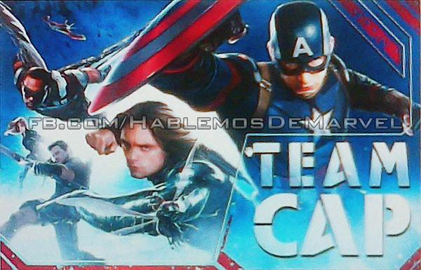 Captain America Promo Art