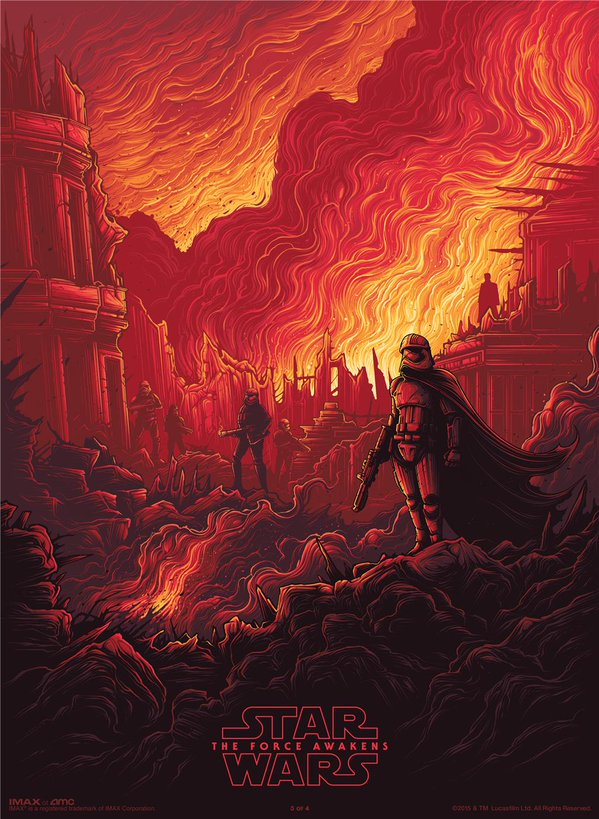 Captain Phasma Featured On Latest IMAX Poster For Star Wars: The Force Awakens