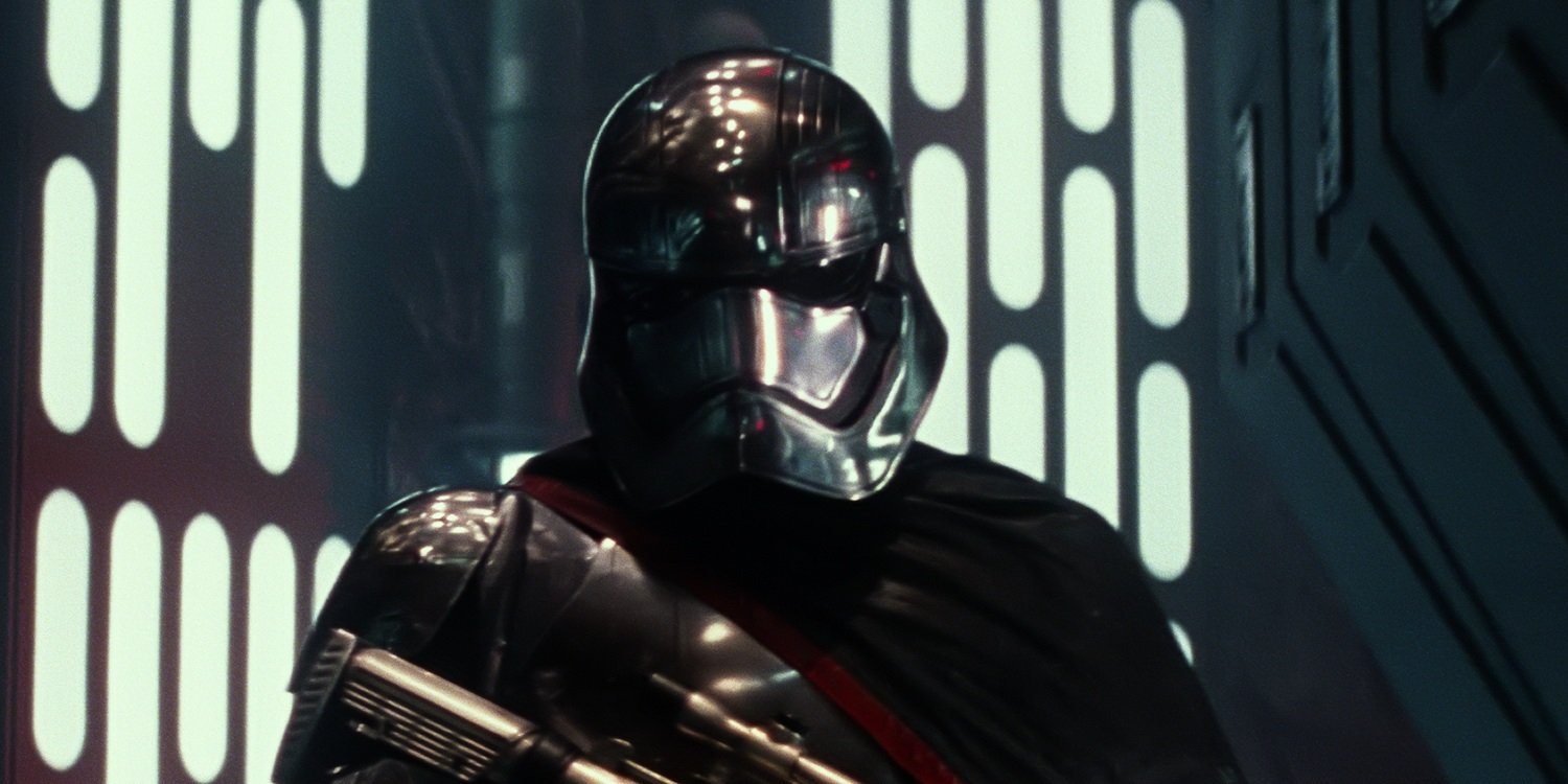 Gwendoline Christie On Why She's Glad We Never See Phasma's Face In Star Wars: The Force Awakens