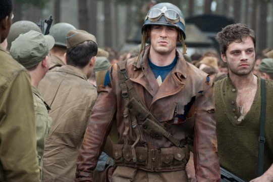 Captain America The First Avenger movie stills 14 541x360 We Got This Covereds Top 50 Comic Book/Superhero Movies