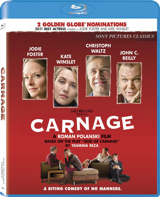 Carnage Blu-Ray Review