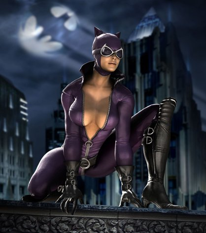 Catwoman Batman Arkham City: Catwoman Gameplay E3 Video
