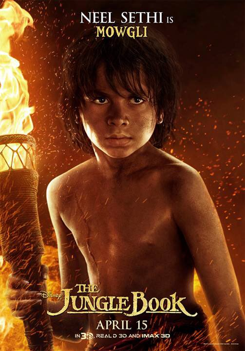 Visually Stunning New Character Posters For The Jungle Book Released