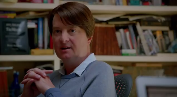Christopher Evan Welch in Sillicon Valley