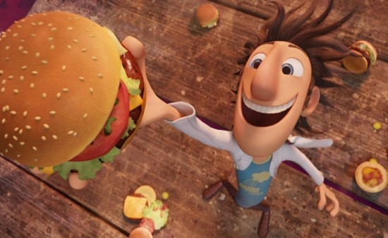 Cloudy With a Chance of Meatballs2 550x337 Cloudy With A Chance Of Meatballs 2 Trailer Arrives Online