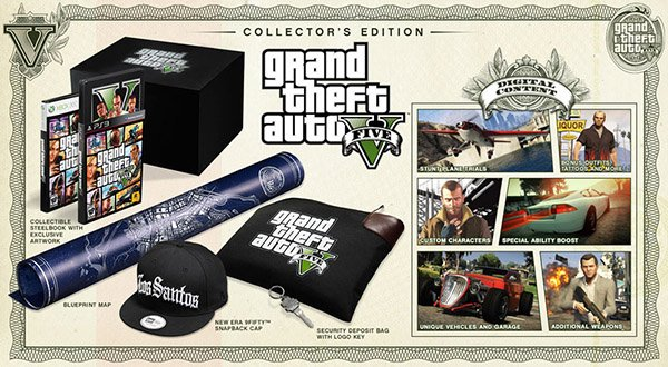 Grand Theft Auto V Collector's And Special Editions Available For Pre-Order