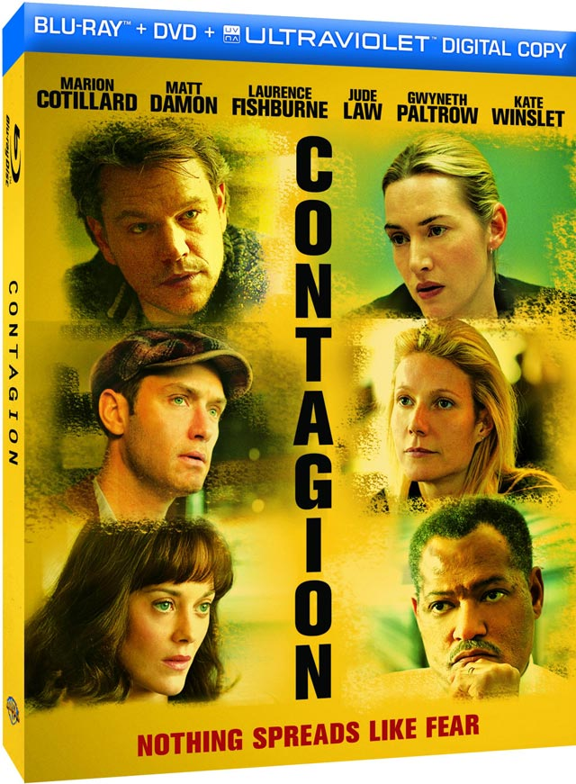Steven Soderbergh's Contagion Hits Blu-Ray In January
