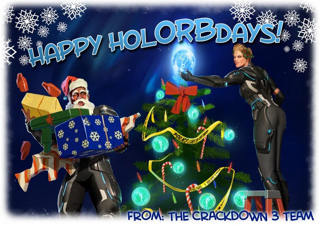 ReAgent Wish You A Merry Christmas With Crackdown 3 Concept Art