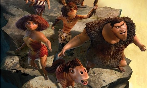 First Trailer For DreamWorks' Prehistoric Family Adventure The Croods