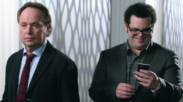 Crystal and Gad in The Comedians