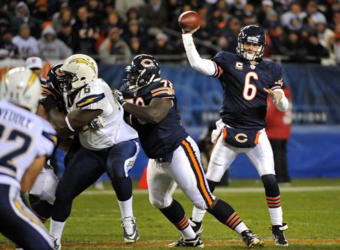 Tough Break For Bears As Cutler's Clicking In The Martz Offense