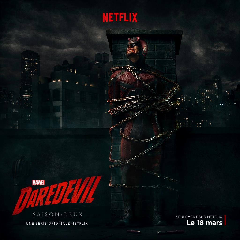 Daredevil Is In Chains In New Season 2 Promo And Poster