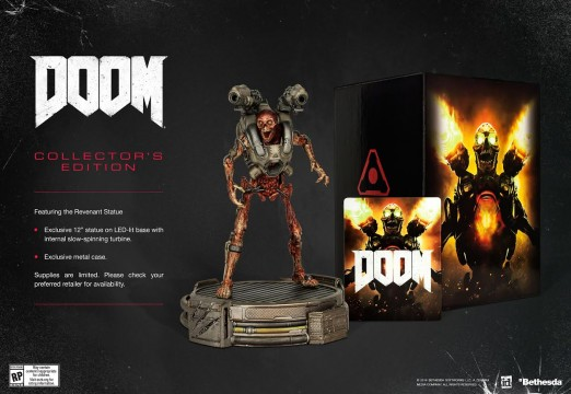 DOOM Snags A Springtime Release Date, Plus New Trailer And Collector's Set