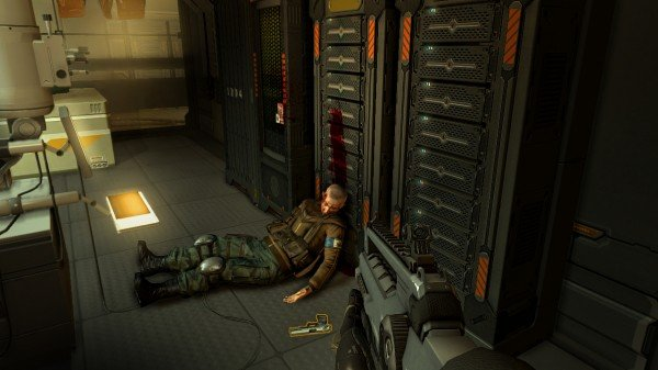 DXHR screenshot Deadbody e1314698356124 Deus Ex: Human Revolution Review
