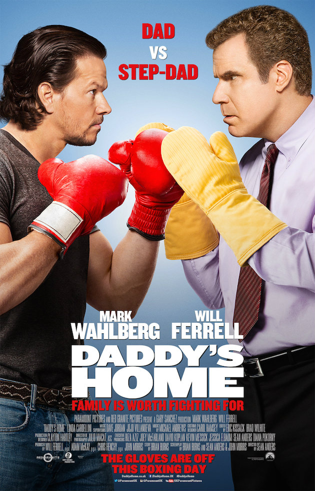 Will Ferrell And Mark Wahlberg Face Off In New Poster For Daddy's Home