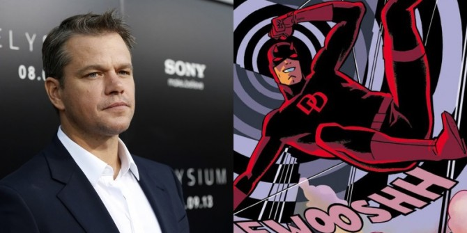 Matt Damon Reveals Which Superhero He'd Play And What Director He Wants At The Helm