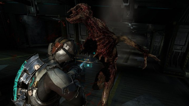 Dead Space 2 Stalker Dead Space 2s 10 Most Horrifying Moments