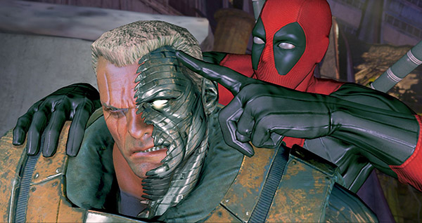 Dead Cable Deadpool Game Unveils New Screenshots