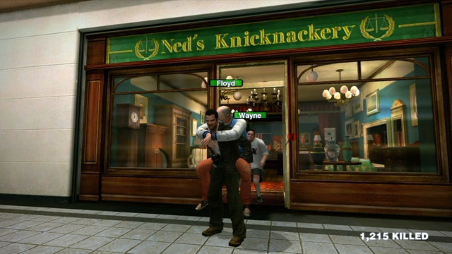 Dead Rising carrying Floyd 640x360 7 Video Games That Have Terrible, Terrible Artificial Intelligence