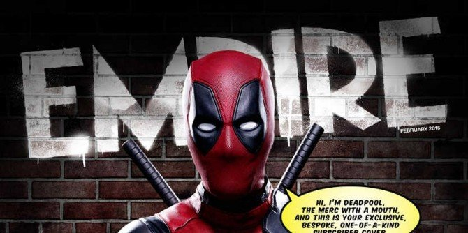 Deadpool Breaks The Fourth Wall On Another Awesome Empire Magazine Cover