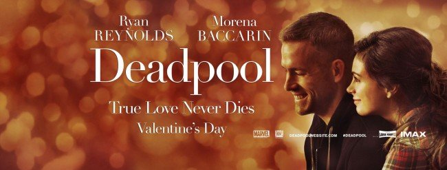 Deadpool Valentine's Day Poster Flips Expectations On Their Head