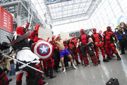 Deadpool Dance Party