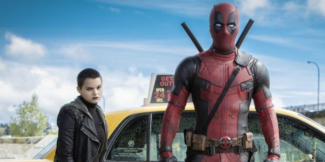 Check Out A Full Page Of The Deadpool Script
