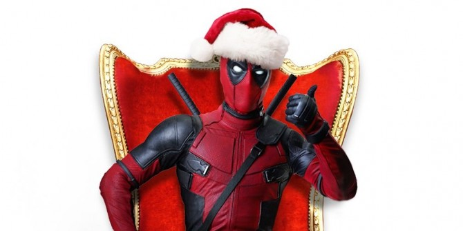 Prepare For Christmas With Awesome New Deadpool Standee