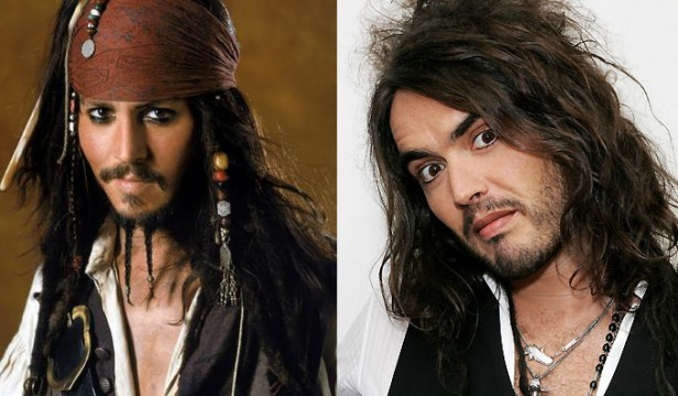 Johnny Depp Wants Russell Brand In Pirates Of The Caribbean 5